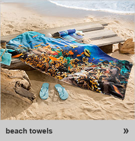 beach towels & sunlounger towels