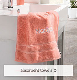 absorbent towels