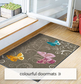colourful doormats
