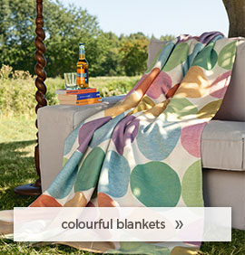 colourful blankets