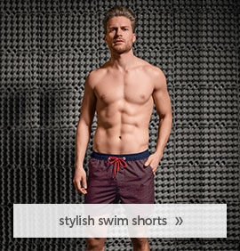stylish swim shorts