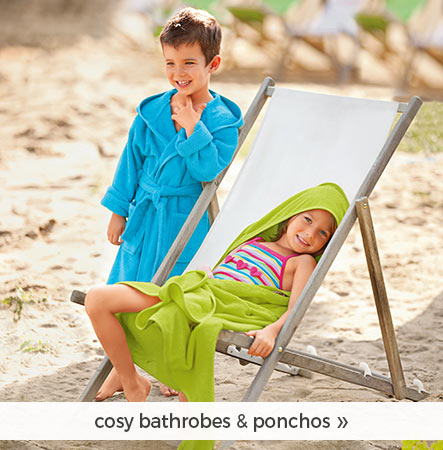 cosy bathrobes & ponchos