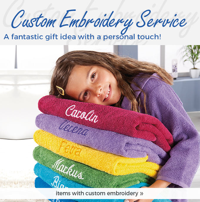 our embroidery service