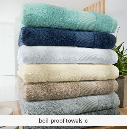 boil-proof towels