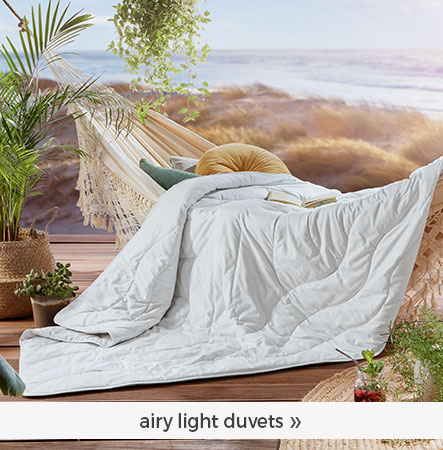 airy light duvets