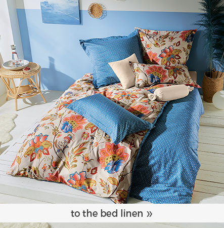 to the bed linen