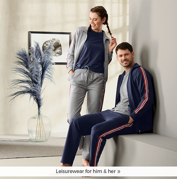 Leisurewear for him & her