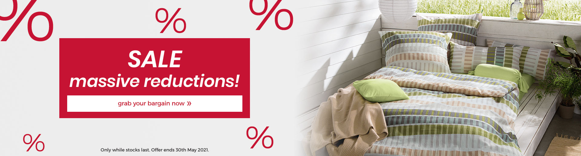 Sale - extremely hard reduced bed linen!