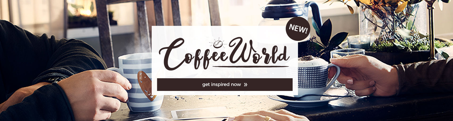 Discover our coffee world!