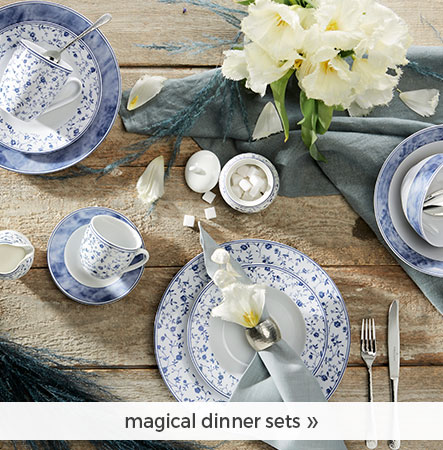 magical dinner sets!