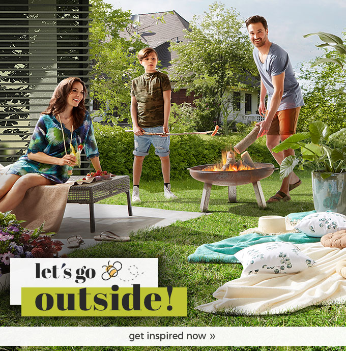 Discover our new world - let's go outside!